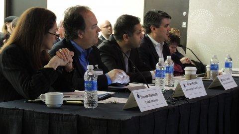 Rochester Venture Challenge judges