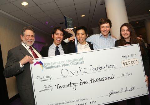 Rochester Venture Challenge 2014 winner
