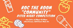 ROC the Room Community Pitch Night