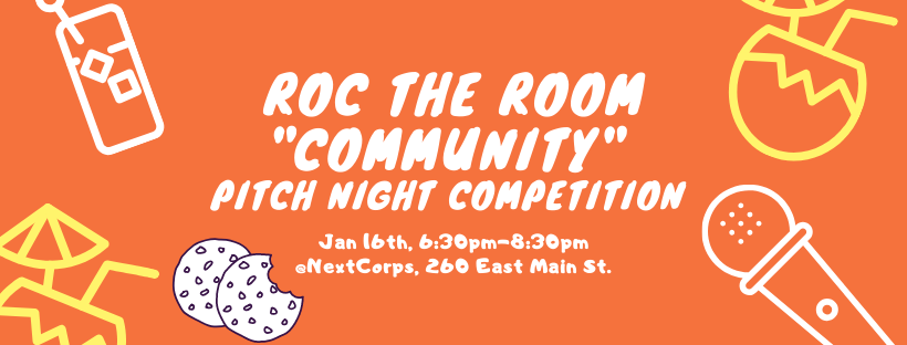 ROC the Room Community Pitch Night