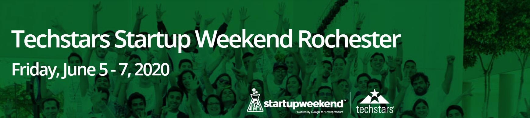 Techstars Startup Weekend Rochester