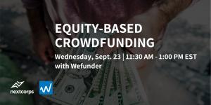 Equity-Based Crowdfunding Virtual Workshop