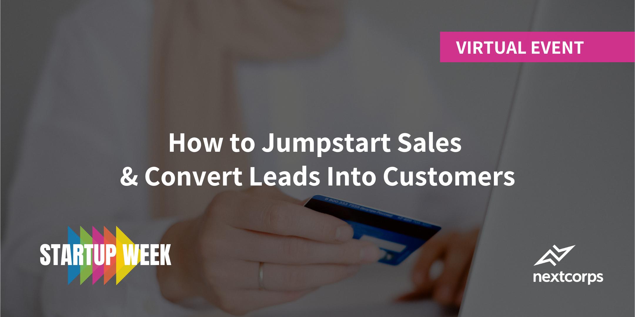 How to Jumpstart Sales
